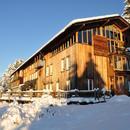 Das Tagungshaus im Winter